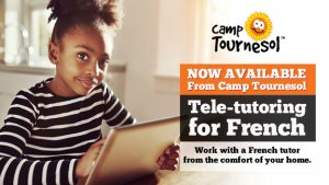 French tele-tutoring available through Camp Tournesol