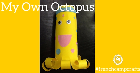 french camp crafts - octopus