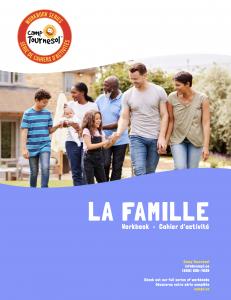 La famille workbook cover