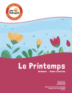 Le printemps workbook cover