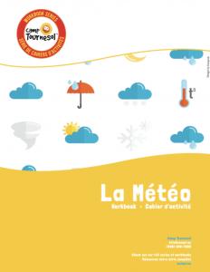 La météo workbook cover