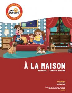À la maison workbook cover