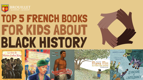 Top 5 French books for kids about Black History