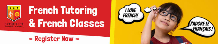 French tutoring and French classes. Register now.