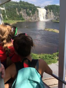 Falls Montmorency - Trip to Quebec