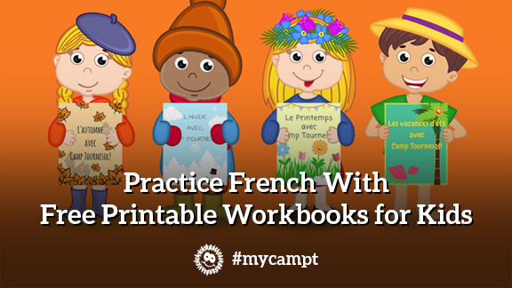 Practice French With Free Printable Workbooks for Kids -