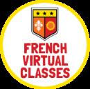 French virtual classes icon.
